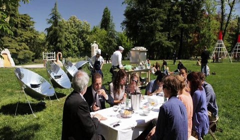 Idée de restaurant original : un restaurant à énergie solaire