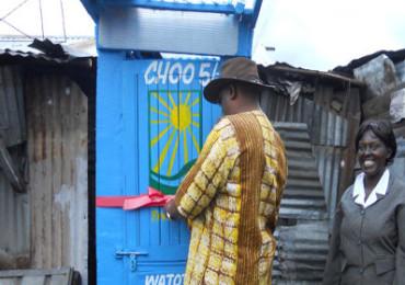 Une solution pour l'assainissement des bidonvilles