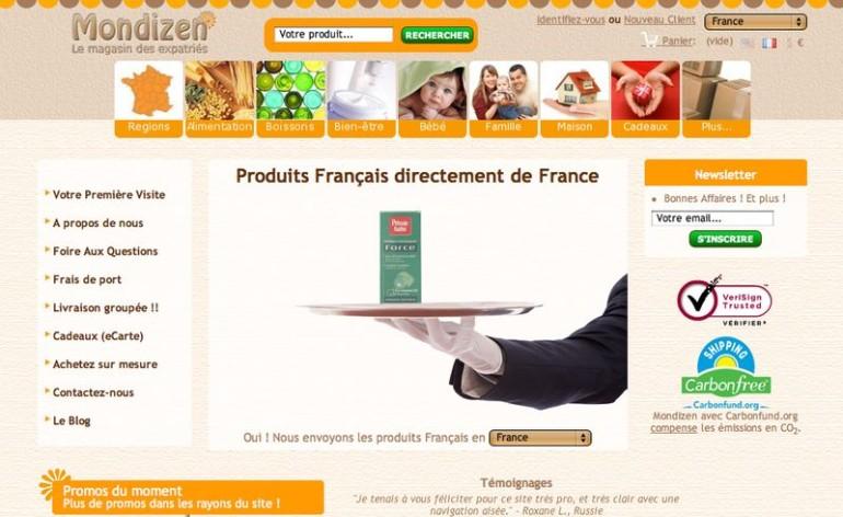 idée E-commerce mondizen
