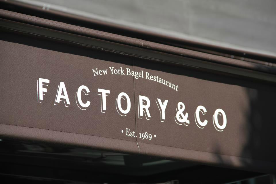 Factory & Co, fabriquant de bagels frais à Paris