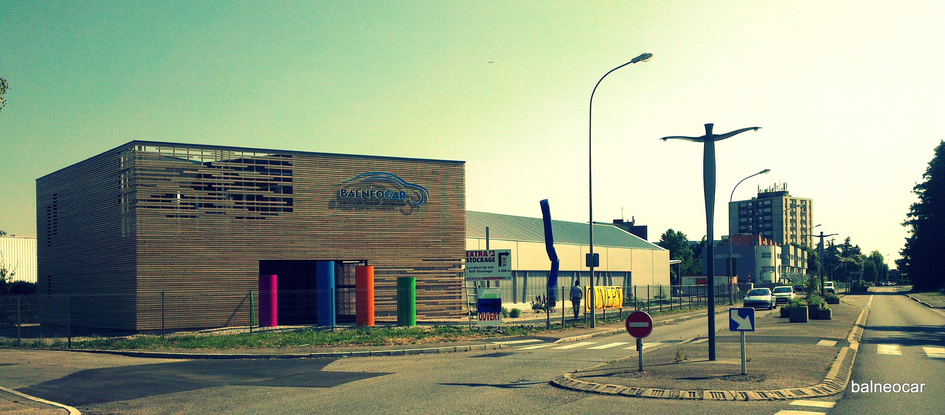 Un centre de beauté automobile