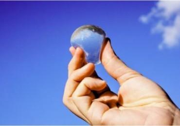 L'eau en bulle porte un nom Ooho!