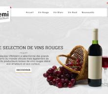 Un site e-commerce proposant des grands vins en demi-bouteille