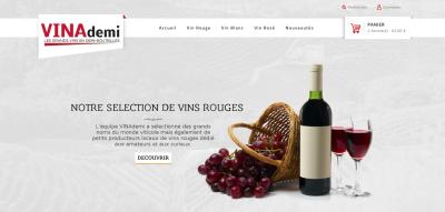 Boutique de vins demi bouteille